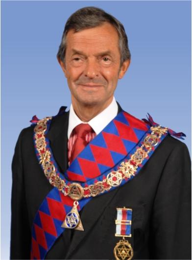 MEGS (Most Excellent Grand Superintendent Alan Berman