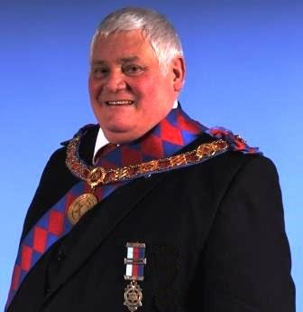 Colin Upton, Provincial Deputy Grand Superintendent (NOW IN CHARGE)