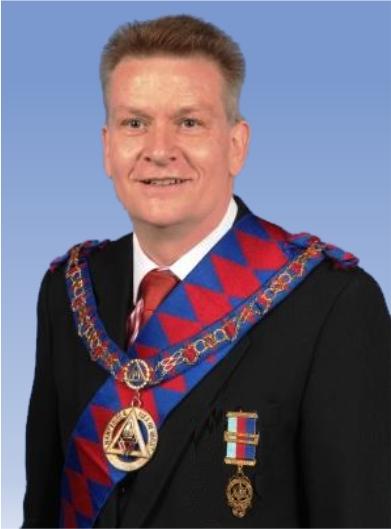 Steve Allum, Most Excellent Grand Superintendent.